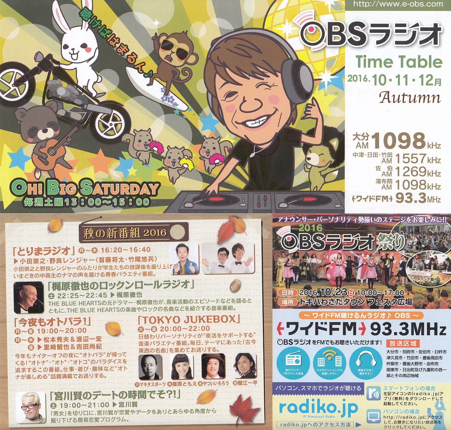 大分放送 OBSラジオ ベリカード: BCLとライセンスフリー